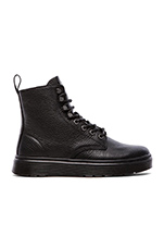 Disc 8-Tie Boot in Black