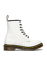 Iconic 8 Eye Boot in White