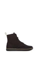 Shoreditch 7-Eye Sneaker in Black