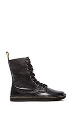 Stratford 9-Eye Fold Down Boot in Black