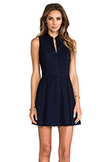 Ashelle Dress in Navy