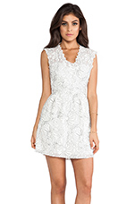 Kendelle Dress in White