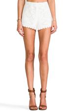 Myranda Short in Blanc