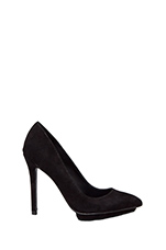 Bella Pump in Black Suede