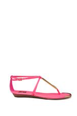 Archer Sandal in Hot Pink