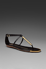 Archer Sandal in Black