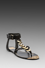 Izara Sandal in Black