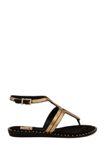 Delmy Sandal in Black