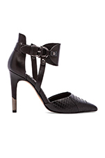 Knoxx Heel in Black