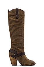 Hawthorne Boot in Dark Taupe
