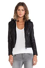 Hoodie Jacket in Black