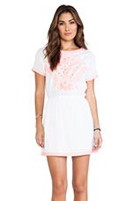 Midori Dress in White
