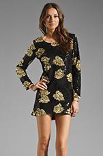 Bruni in Black/Gold
