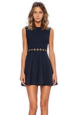 Renata Dress in Navy