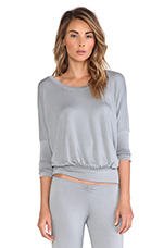 Sadie Slouchy Tee in Storm Cloud