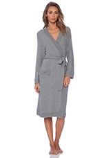 Cozy Time Robe in Heather Grey