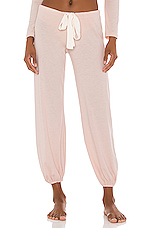 Heather Cropped Pant in Shell