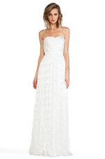 Hyacinth Gown in Ivory