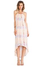 Halter Dress in Tribal Tan