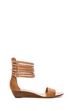 Harleigh Flat Sandals in Light Tan