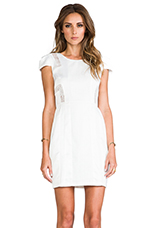 The Tower Dress in White