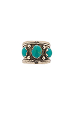 Bolivia Ring in Silver & Turquoise