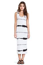 Tissue Jersey Doubled Dress in Sehera Stripe