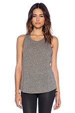 Racer Tank in Heather Grey