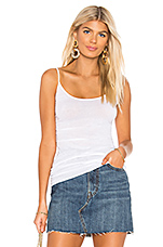 Tunic Layer Tank in White
