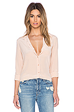 Brett Vintage Wash Blouse in Nude