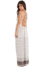 Boehem Maxi Dress in Dry Sand
