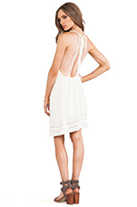 Sofia Mini Dress in Ivory