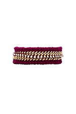 Braided Friendship Bracelet in Pink
