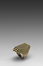 Temple of Poseidon Ring in Gold