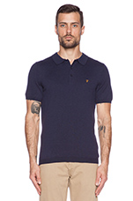 The Affery Polo in True Navy