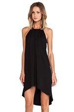 Mojave Halter Dress in Black