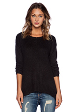 Waverly Sweater in Black Heather