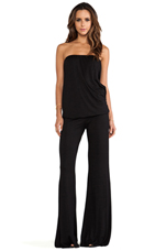 Pump Jumpsuit in Black