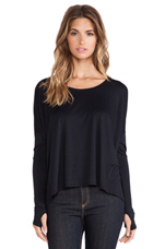 Songbird Top in Black