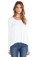 Songbird Top in White