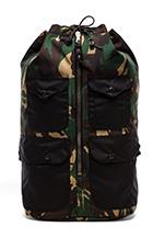 Duffle Backpack in Camo