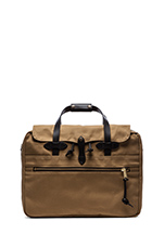 Large Twill Carry-on in Tan