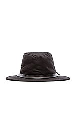 Tin Cloth Packer Hat in Black