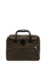 Large Twill Carry-On Travel in Otter Green