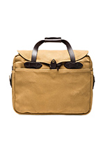Large Briefcase/Computer Case in Tan