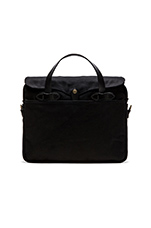 The Black Collection Twill Original Briefcase in Black