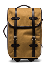Wheeled Carry-On in Tan
