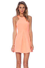 The Unbelivers Dress in Bright Apricot