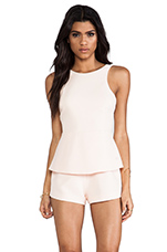 Stranger In Paradise Playsuit in Apricot