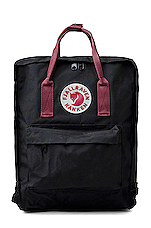 Kanken in Black & Ox Red